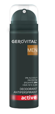 Gerovital H3 Men Deo Antiperspirant Active 150ml 5943000084937